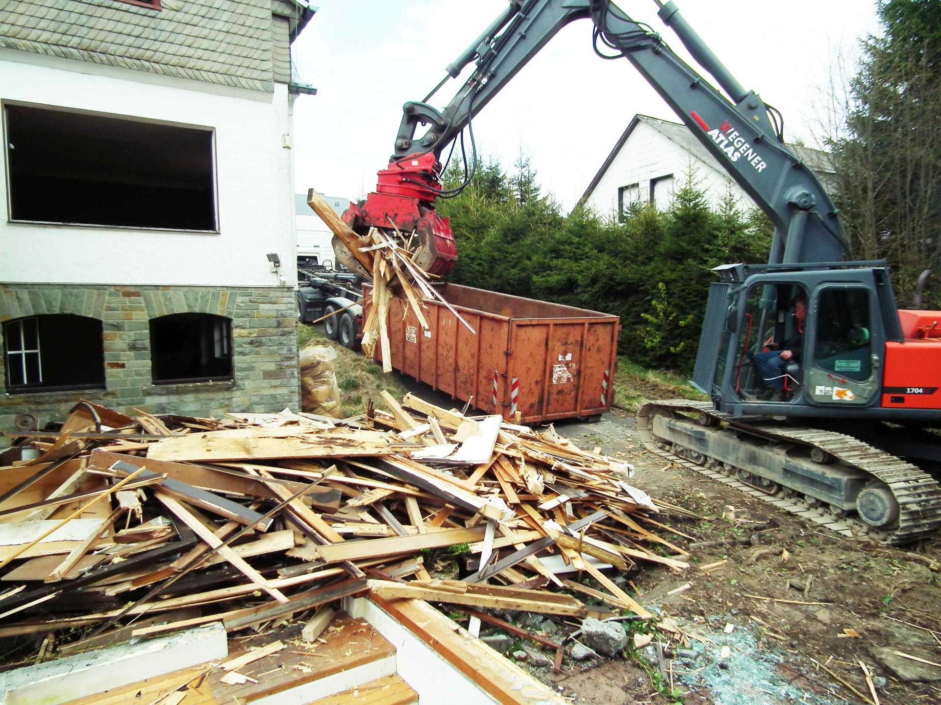 Entkernung - Holzstoffe
