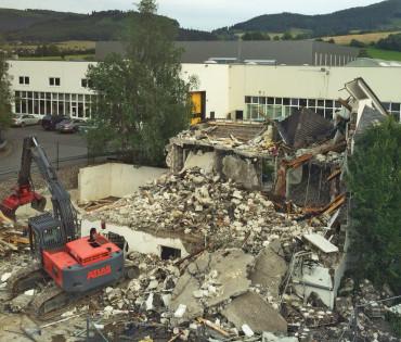Abbruch Textilpflege Göddecke – Olsberg (MIT VIDEO)