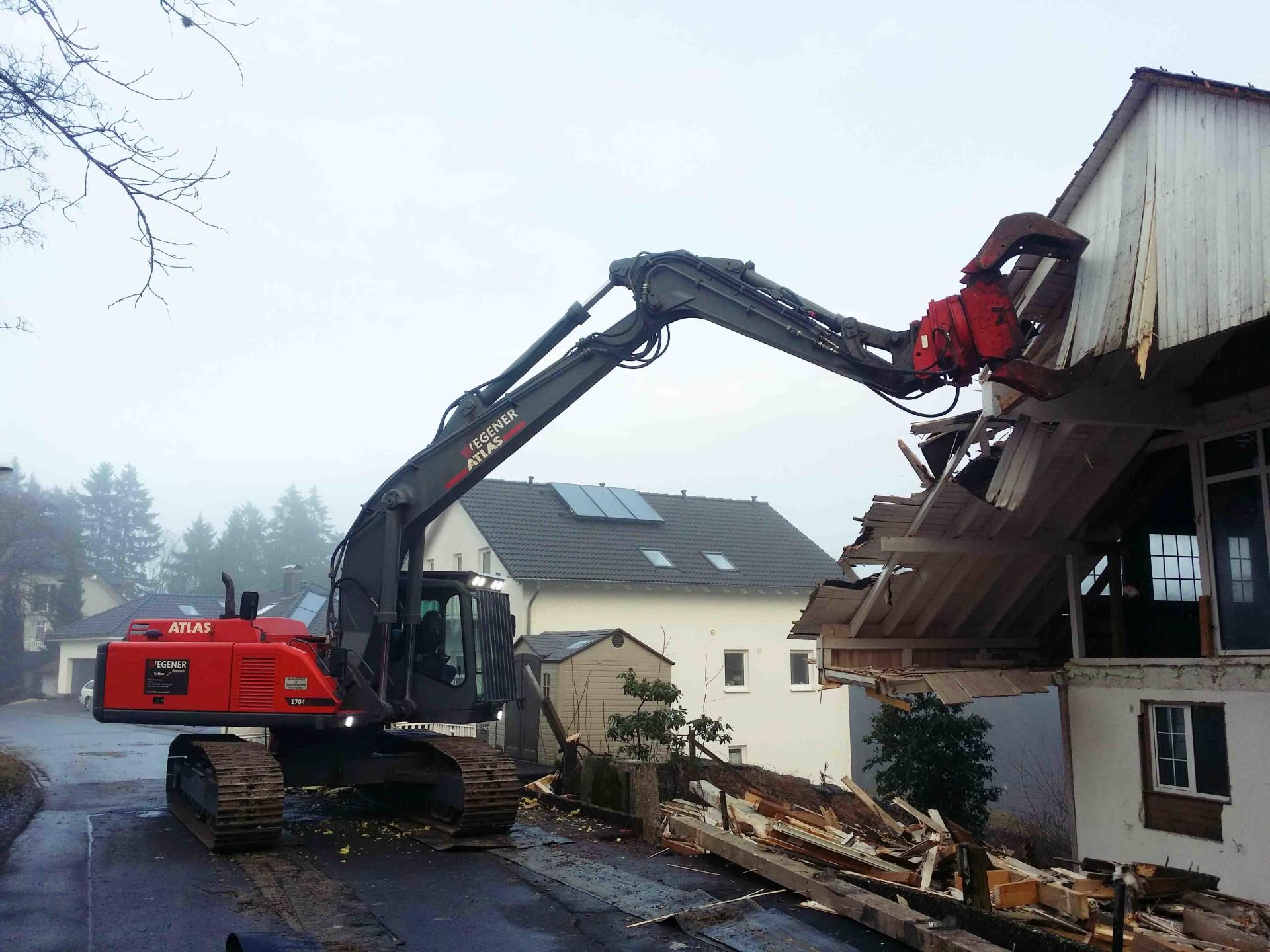 Abbrucharbeiten Winterberg