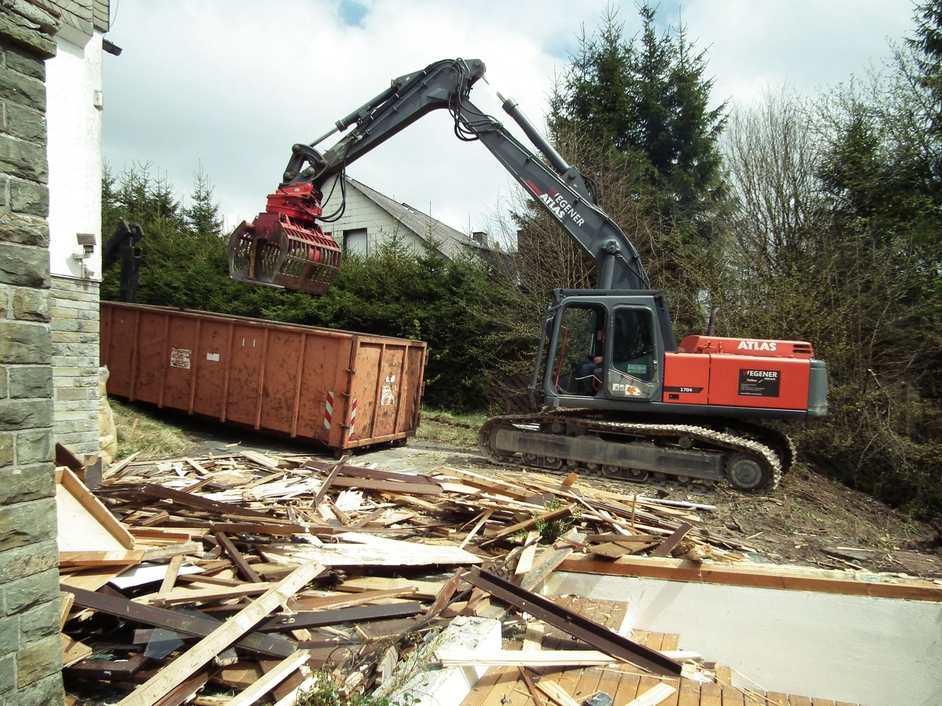 Hausabriss Kosten Wegener Tiefbau Abbruch In Olsberg Brilon