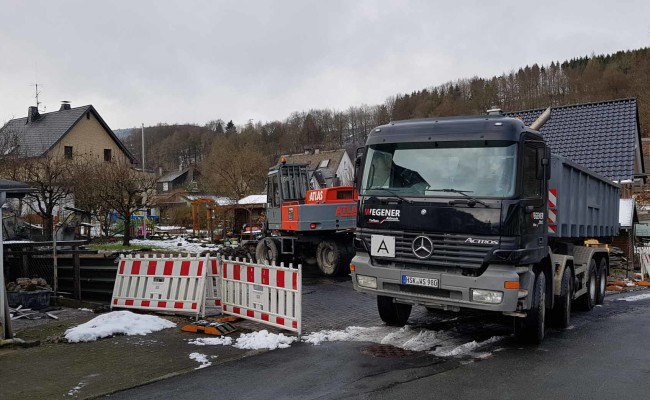 Mercedes Actros 8×4