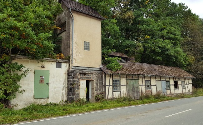 Abbruchgebäude in Dreislar