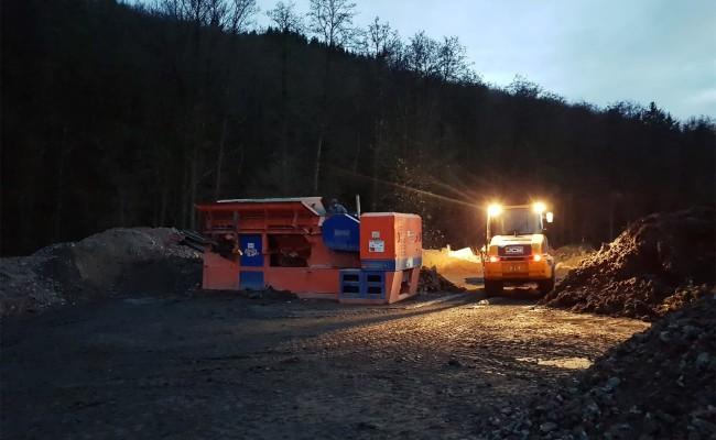 Tiefbau Wegener – Recycling