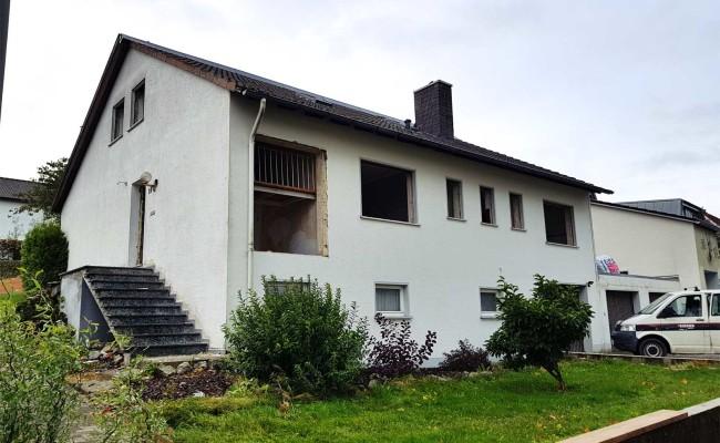 Haus bereit zum Abriss
