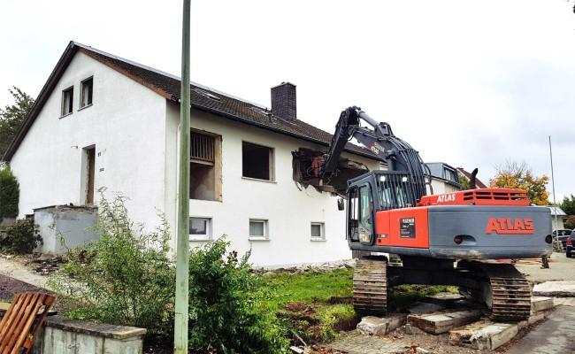 Abbruch Wohnhaus Wegener