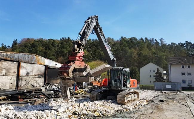 Industrieabbruch Wegener Olsberg
